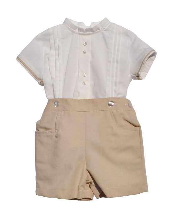 baby boy shirt & short - baby boy clothes uk