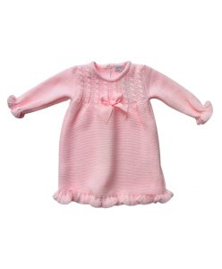 knitted baby girl dress
