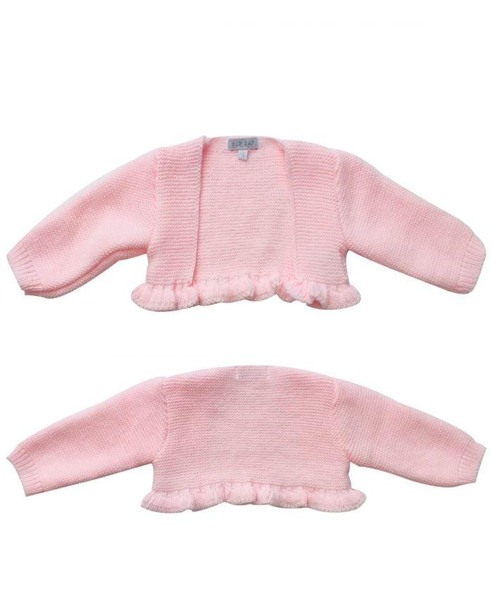 baby girl pink bolero