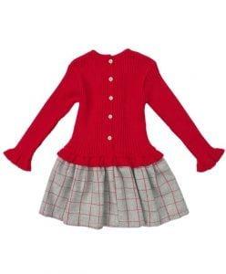 beautiful girls red winter dress