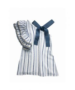 pretty one-sided girls dress