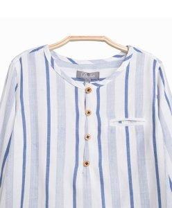 smart boys stripe shirt