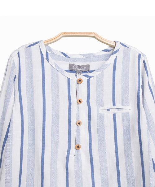 smart boys stripe shirt