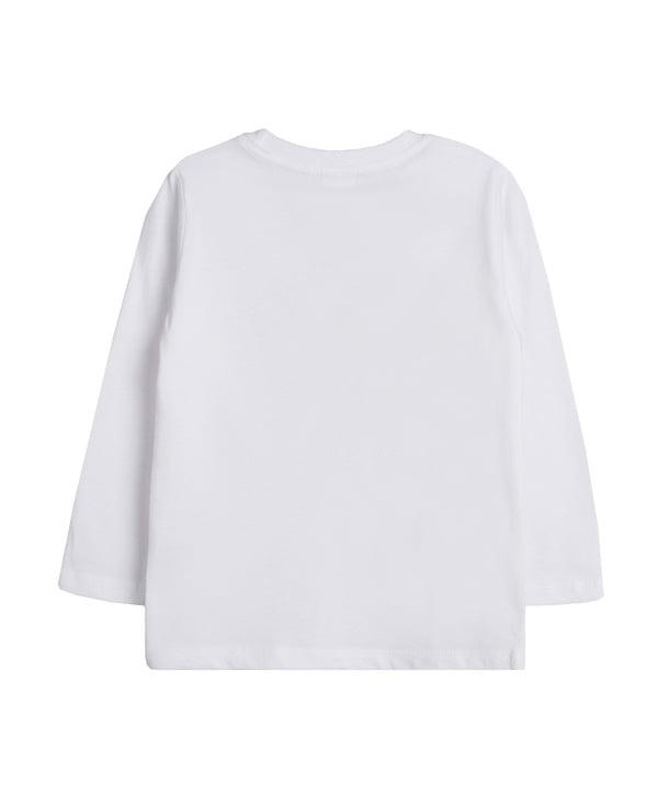 baby boy white t-shirt