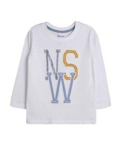 fancy white boys t-shirt