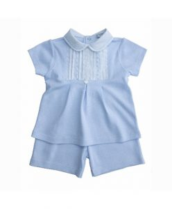 baby girl jersey & shorts set