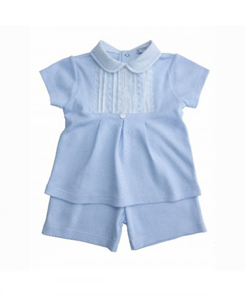 baby girl jersey & shorts set